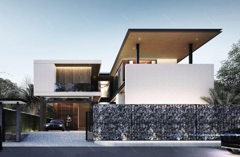 การสร้างบ้านโมเดิร์นไม่ให้สิ้นเปลืองที่ช่างรับสร้างบ้าน แนะนำ